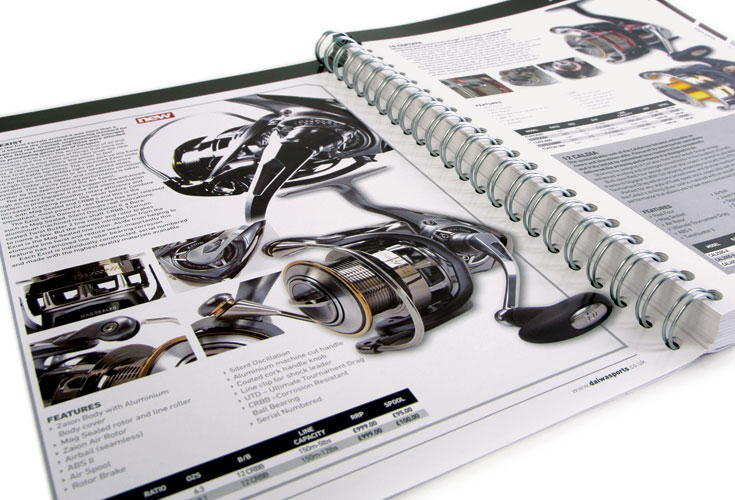 Daiwa Catalogue Example